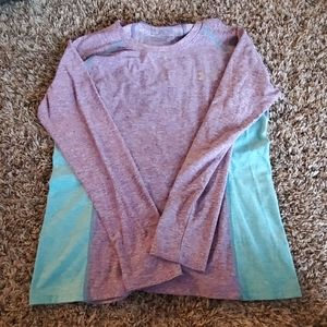UA long sleeve cold gear compression top